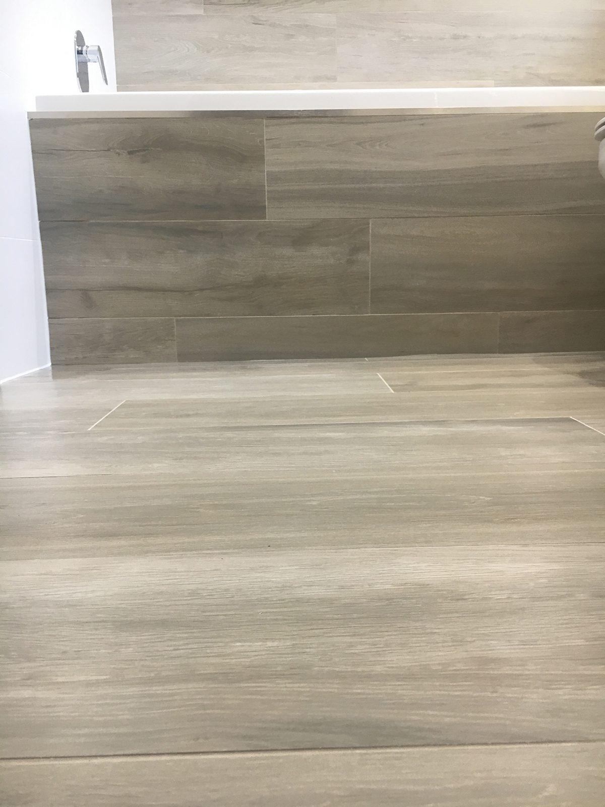 Bathroom fitting wet room tiling