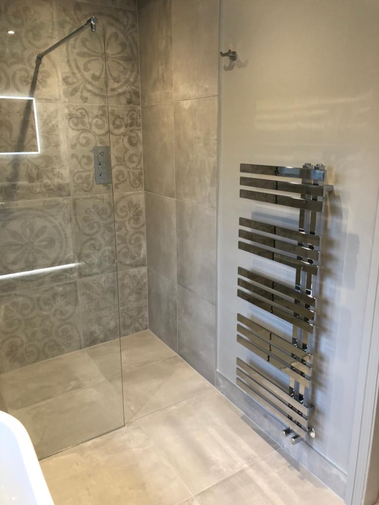 The Cambridge Bath Co bathroom heater wall radiator